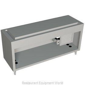 Duke 335-25SS Serving Counter Frost Top Buffet