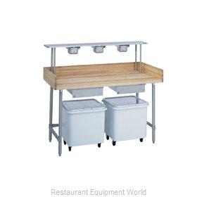Duke 335 Work Table, Bakers Top