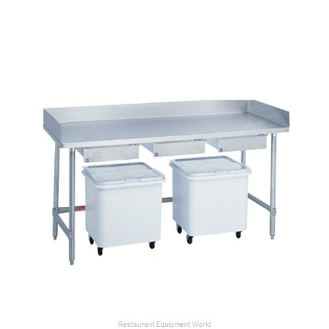 Duke 345 Prep Work Table Bakers Top