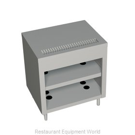 Duke 389-25SS Serving Counter, Beverage