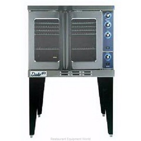 Duke 613Q-G4V Full Size Gas Convection Oven (Magnified)