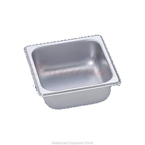 Duke 662 Stainless Steel Pan (Magnified)