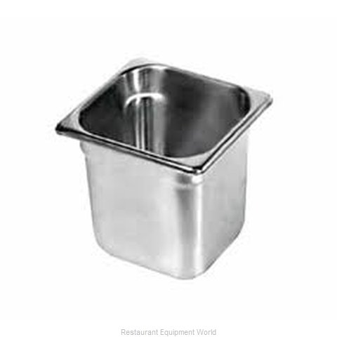Duke 666 Steam Table Pan, Stainless Steel (Magnified)
