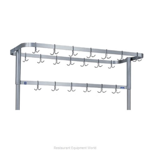 Duke 698SS Pot Rack, Table-Mounted (Magnified)