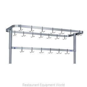 Duke 704GL Pot Rack Table Mounted