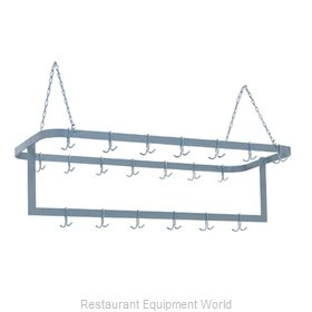 Duke 711SS Pot Rack, Ceiling Hung