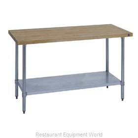 Duke 7121A-2496 Work Table Wood Top