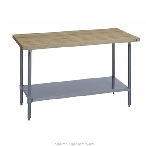 Duke 7122A-2484 Work Table Wood Top
