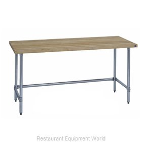 Duke 7124-3096 Work Table, Wood Top