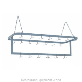 Duke 712SS Pot Rack, Ceiling Hung