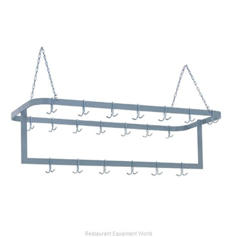 Duke 716SS Pot Rack, Ceiling Hung (Magnified)