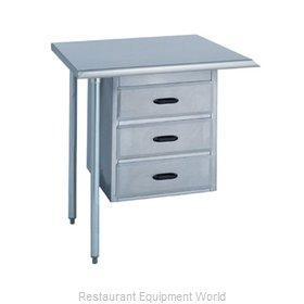 Duke 731 Work Table, Drawer