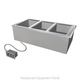 Duke ADI-1E-SW Hot Food Well Unit Electric Drop-In Top Mount