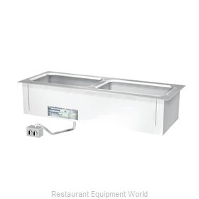Duke ADI-2ESL Hot Food Well Unit, Drop-In, Electric