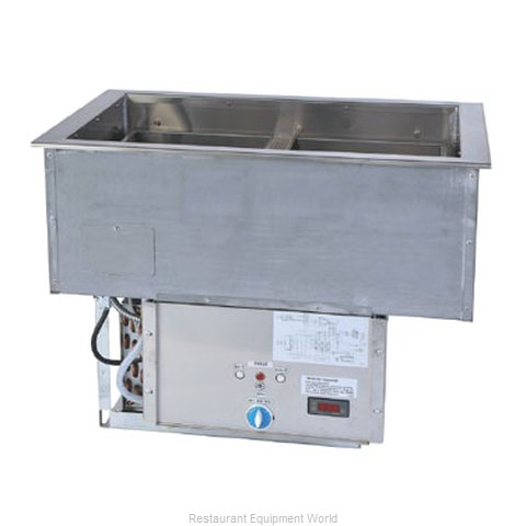 Duke ADI-2HC Hot / Cold Food Well Unit, Drop-In, Electric