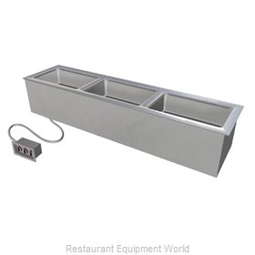 Duke ADI-3ESL-SW Hot Food Well Unit Electric Drop-In Top Mount