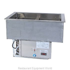 Duke ADI-3HC Hot / Cold Food Well Unit, Drop-In, Electric