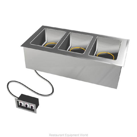 Duke ADI-4E Hot Food Well Unit, Drop-In, Electric
