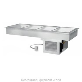 Duke ADI-4M Cold Food Well Unit, Drop-In, Refrigerated