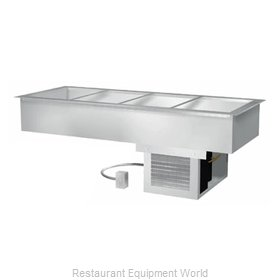 Duke ADI-4MD Cold Food Well Unit, Drop-In, Refrigerated