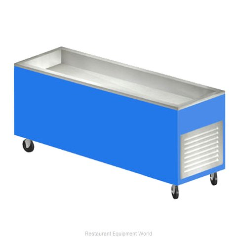 Duke AHC-8M Serving Counter Cold Pan Salad Buffet