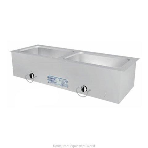 Duke ASI-2ESL Hot Food Well Unit, Slide-In, Electric