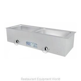 Duke ASI-2ESL Hot Food Well Unit, Slide-In, Electric