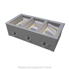 Duke ASI-3E Hot Food Well Unit, Slide-In, Electric