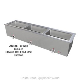 Duke ASI-3ESL Hot Food Well Unit Slide-In Electric