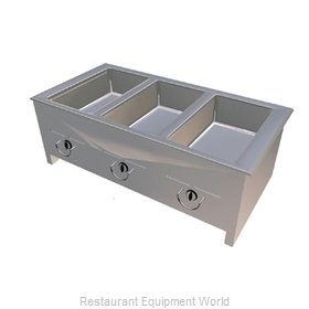 Duke ASI-3G Hot Food Well Unit, Slide-In, Gas