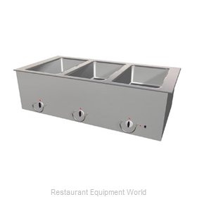 Duke ASI-4E-SW Hot Food Well Unit, Slide-In, Electric