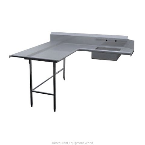 Duke DDSD-72L Dishtable, Soiled