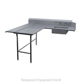 Duke DDSD-96L Dishtable, Soiled