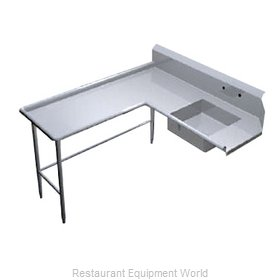 Duke DISD-72L Dishtable Soiled
