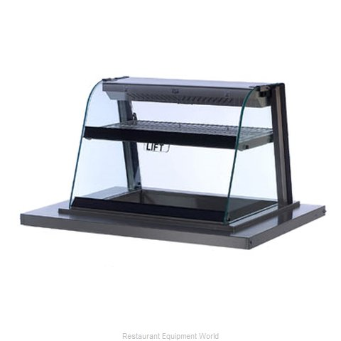Duke DK-HCM36F Display Case, Hot / Cold, Drop-In