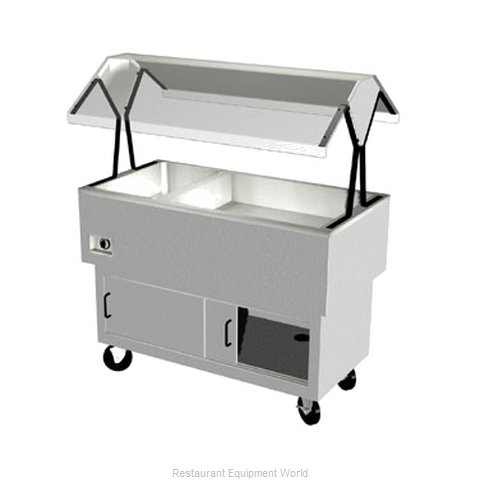 Duke DPAH-1H2C Serving Counter, Hot & Cold