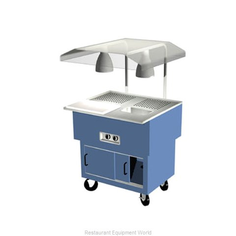 Duke DPAH-2-BC Serving Counter Carving Station Buffet
