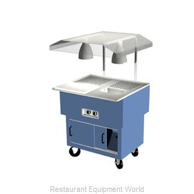 Duke DPAH-2-BC Carving Station Unit