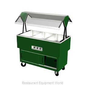 Duke DPAH-3-HF Serving Counter Hot Food Steam Table Electric