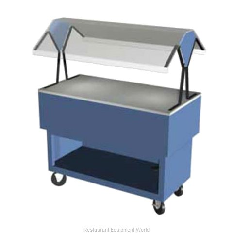 Duke DPAH-4-ST Serving Counter, Utility