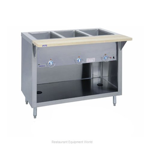Duke E-3-CBPG Serving Counter Hot Food Steam Table Electric