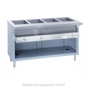 Duke E-4-DLSS Serving Counter Hot Food Steam Table Electric