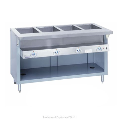 Duke E-6-DLSS Serving Counter Hot Food Steam Table Electric