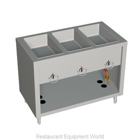 Duke E303-25PG Serving Counter Hot Food Steam Table Electric