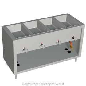 Duke E304-25PG Serving Counter Hot Food Steam Table Electric