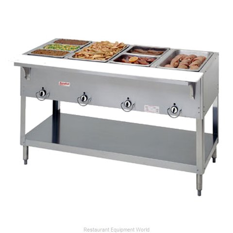 Duke E304SW Serving Counter Hot Food Steam Table Electric