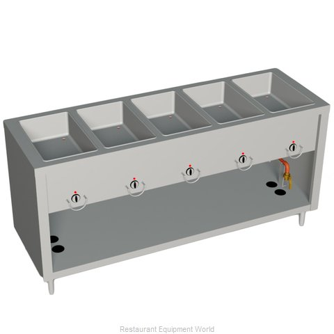 Duke E305-25PG Serving Counter Hot Food Steam Table Electric