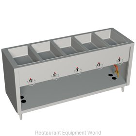 Duke E305-25SS Serving Counter Hot Food Steam Table Electric