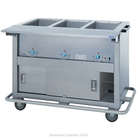 Duke EP-3-CBSS Serving Counter Hot Food Steam Table Electric