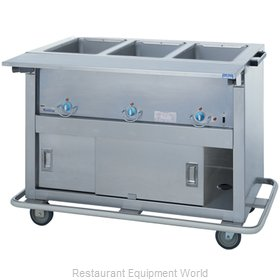 Duke EP-3-CBSS Serving Counter, Hot Food, Electric